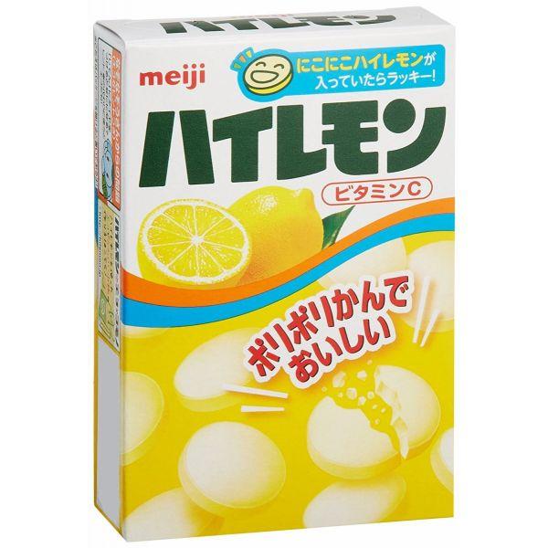当店一番人気 ポリポリかんでおいしい 明治 おしゃれ ハイレモン 18粒×10個
