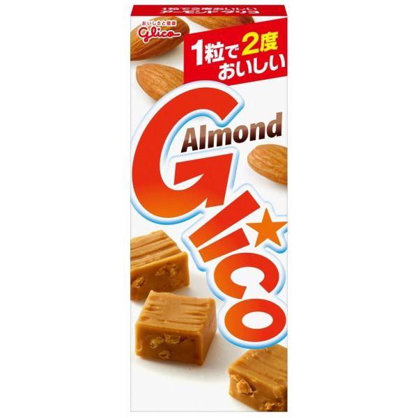 海外 1粒で2度おいしい グリコ 返品送料無料 18粒×10個 アーモンドグリコ