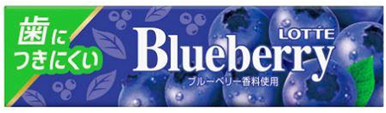 歯につきにくい ロッテ 9枚×15個 ブルーベリーガム セール価格 超人気