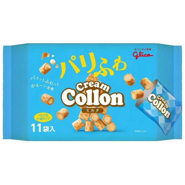 パリっとふわっとかるーい食感 新作からSALEアイテム等お得な商品 満載 江崎グリコ コロン大袋 贈答品 11袋×12個