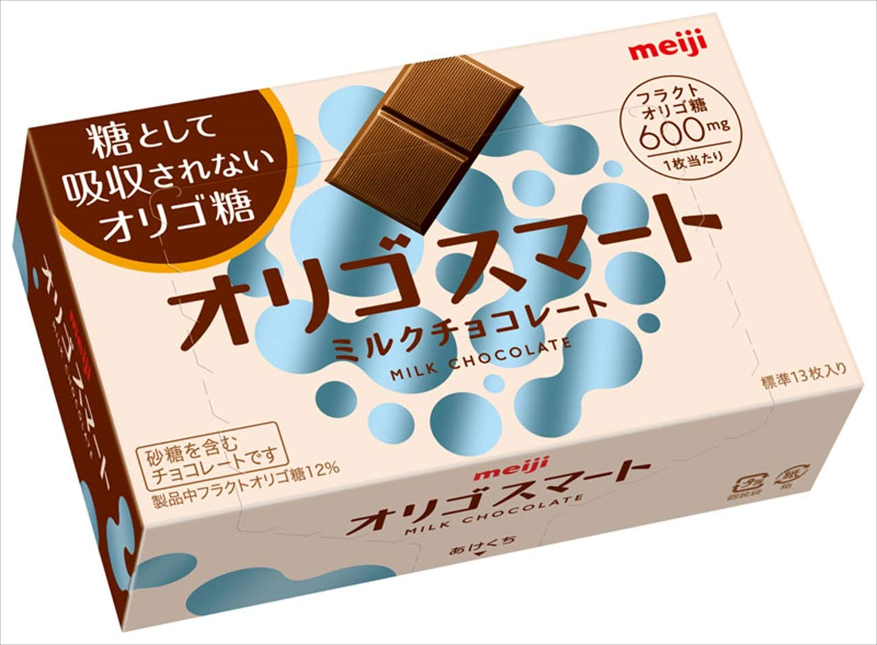 糖として吸収されないオリゴ糖 結婚祝い 明治 定番 オリゴスマートミルクチョコレート 65g×5箱