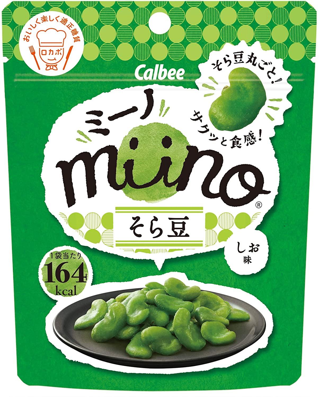 そら豆まるごと カルビー miino 激安 28g そら豆しお味 超人気 専門店 ×12袋