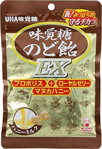 のどにまっすぐ粉のチカラ 味覚糖 往復送料無料 流行のアイテム のど飴EX 90G×6袋
