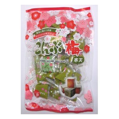 津山屋製菓 こんぶ梅 220g×12袋