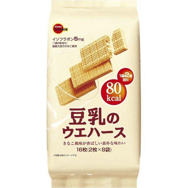 ブルボン 豆乳のウェハース 16枚×24個