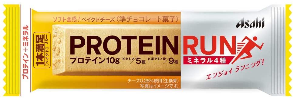 アサヒグループ食品 1本満足バー プロテイン·ラン ベイクドチーズ 72本セット【ケース販売】