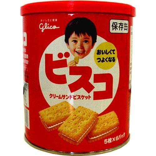 江崎グリコ ビスコ保存缶 30枚×10缶