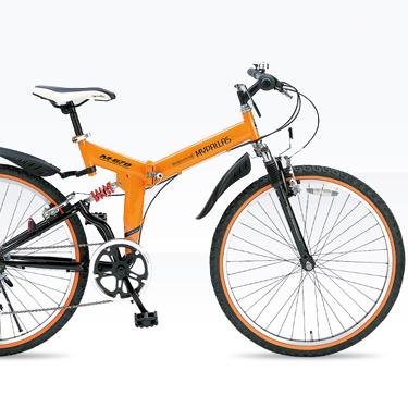 折畳ATB MTB M-670-OR オレンジ 26型6段 マイパラス マウンテンバイク【送料無料】折りたたみ 26インチ