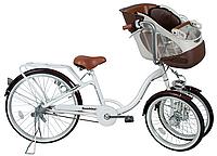【送料無料】ミムゴバンビーナ フロントチャイルドシート付三輪自転車MG-CH243F フロントシート子供乗せ自転車 シマノ変速 BAA bambina