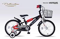 マイパラス 16型 子供用自転車 MD-10-BK ブラック 【送料無料】