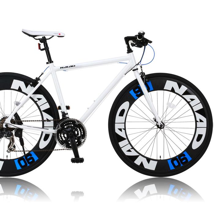 CANOVER/カノーバー クロスバイク 700×28CCAC-023 NAIAD(ナイアード)【ホワイト】シマノ製21段ギア 通勤通学 スポーティ オオトモ