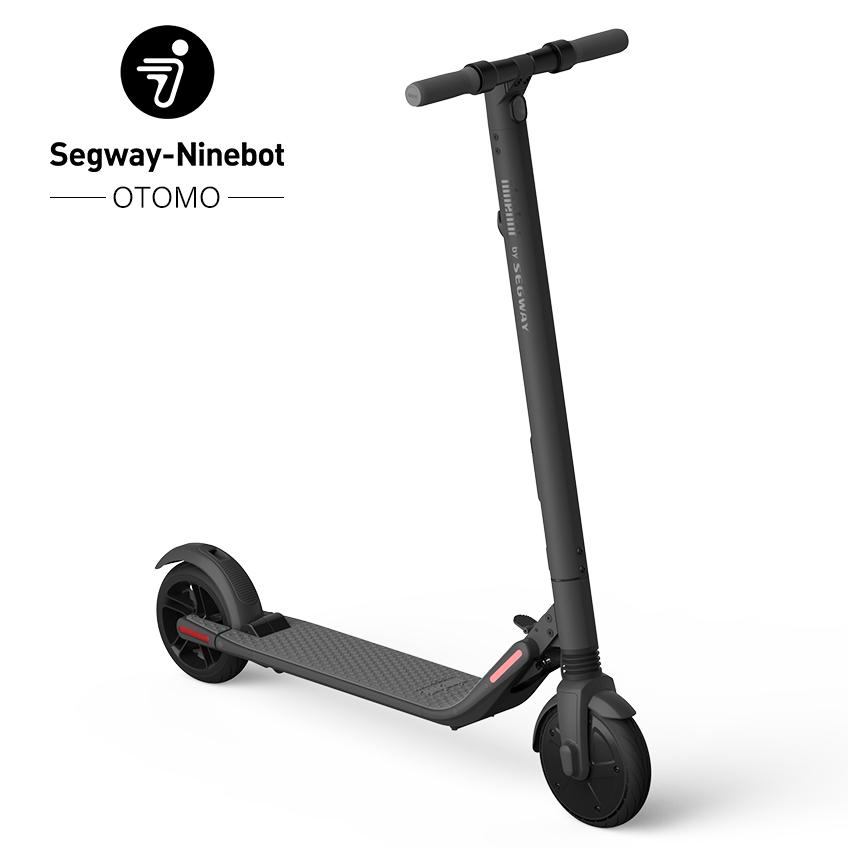 Ninebot KickScooter ES2 マットダークグレー (ナインボットキックスクーターイーエス2)  セグウェイ 電動式 キック ボード 36722 オオトモ プレゼントに