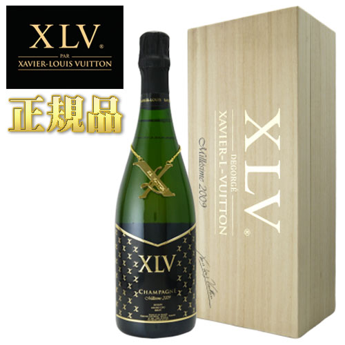 XLV シャンパーニュ ブジー グランクリュ ブリュット ミレジメ 2009 正規品 桐箱入 750ml ヴィトン シャンパン フランス【お中元 贈答用】