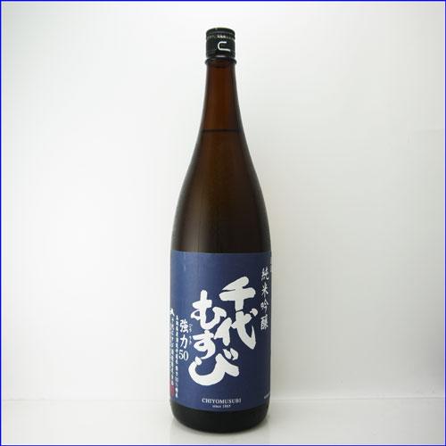 アイテム勢ぞろい 日本酒 千代むすび 純米吟醸 完売 強力 ごうりき 鳥取県 千代むすび酒造 50 1800ml
