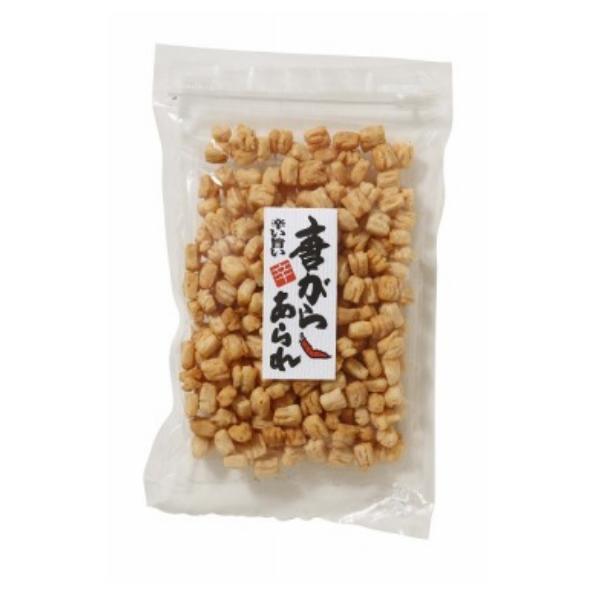 【富山銘菓・御菓蔵】お酒のおつまみにピッタリ。小粒で少し固めのピリッとした「唐辛子あられ 150g」
