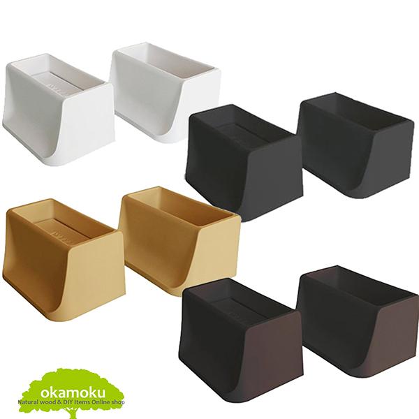 『2×4材』にセットするだけ! 簡単に柱が作れます! 模様替え 壁面突っ張り 壁掛け ラック 棚 DIY ツーバイフォー 木材用 2x4 DiaWall WAKAI 若井産業 オカモク okamoku DIAWALL ディアウォール 2×4材用 【上下パッドセット】4色 ホワイト ライトブラウン ダークブラウン ブラック DW24