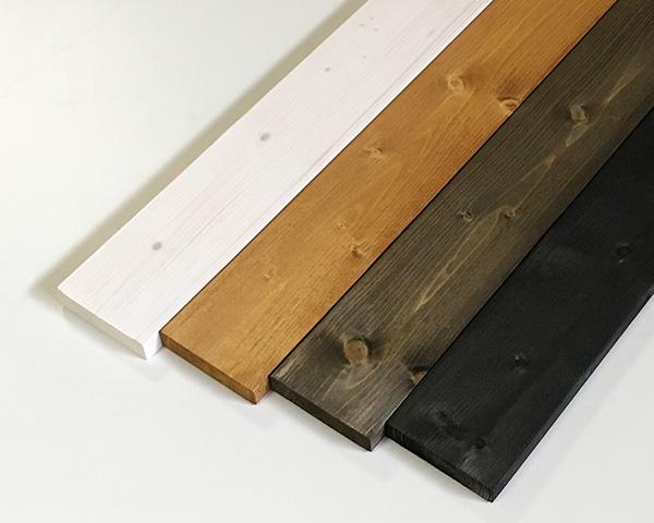 今まで面倒だった塗装が不要 塗装済みのワンバイ材 塗装ワンバイ材 約19×89×1830mm 1×4 DIY 祝開店大放出セール開催中 木材 塗装済 人気急上昇 4色展開 1x4 ワンバイフォー 角材 カット可