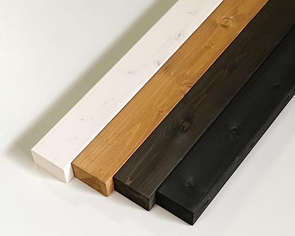 今まで面倒だった塗装が不要 塗装済みのツーバイ材 塗装ツーバイ材 約38×63×1200mm 2×3 DIY 販売 木材 角材 ツーバイスリー 塗装済 期間限定で特別価格 4色展開 カット可 2x3