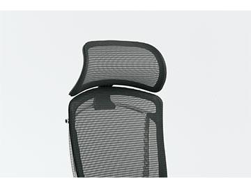 オカムラ コンテッサセコンダ Contessa secondaオフィスチェア CC501W コンテッサセコンダ用大型固定ヘッドレスト ボディカラーホワイト ( 送料込み)