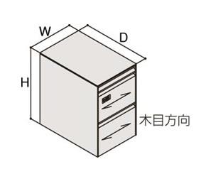 クルーズCタイプ ワゴンA4×2段+ペントレーダイヤル錠 本体:Z637(スキップシルバー)【送料込み】