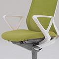 オカムラ フルーエント Fluent オフィスチェア CB525Y フルーエント用デザインアーム (送料込み)