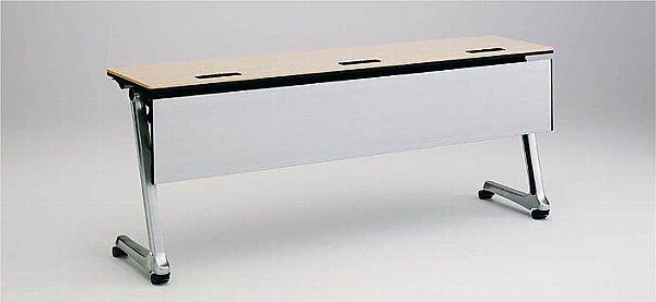INTERACT PRO(インターアクトプロ) 1800W×600D配線孔付 棚板なし 幕板付 【送料込み】
