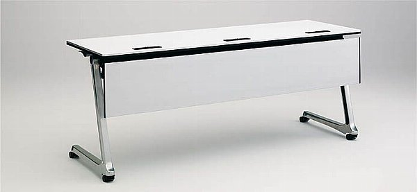 INTERACT PRO(インターアクトプロ) 1500W×450D配線孔付 棚板付 幕板付 【送料込み】