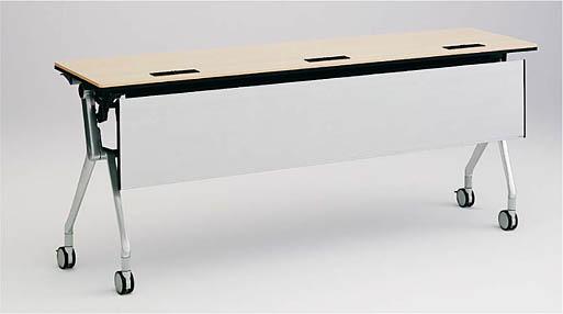 INTERACT NT(インターアクトエヌティ) 1800W×450D配線孔付 棚板付 幕板なし 【送料込み】