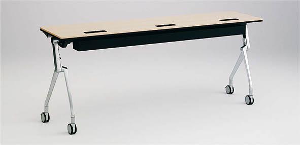 INTERACT NT(インターアクトエヌティ) 1800W×600D配線孔付 棚板なし 幕板なし 【送料込み】