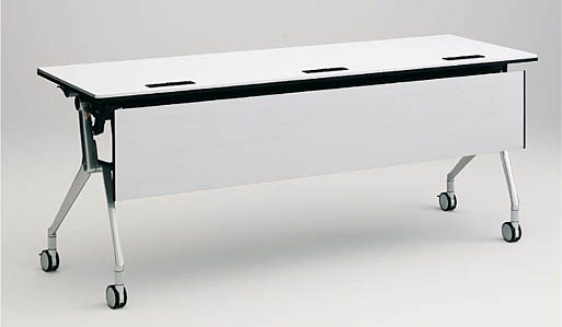 INTERACT NT(インターアクトエヌティ) 1800W×450D配線孔付 棚板付 幕板付 【送料込み】