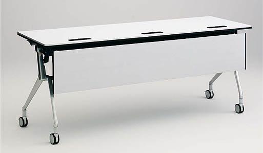 INTERACT NT(インターアクトエヌティ) 1500W×450D配線孔付 棚板付 幕板付 【送料込み】