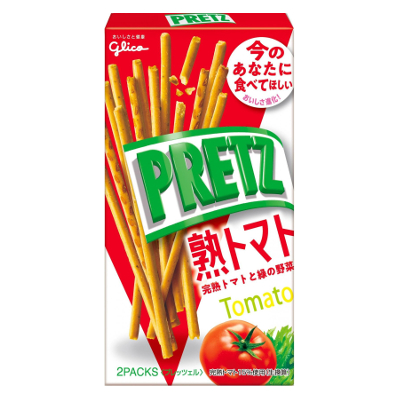 グリコ プリッツ 熟トマト 60g 120コ入り 2019/07/30発売 (4901005520790c)