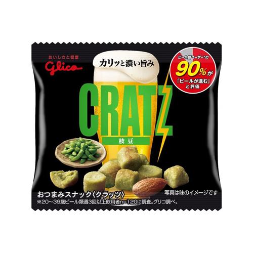 (地域限定送料無料) グリコ クラッツミニタイプ〈枝豆〉 14g 400コ入り 2019/08/06発売 (4901005544314ck)
