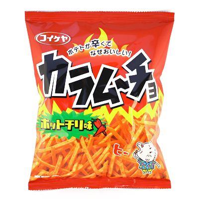 Koikeya karamucho 辣椒风味 117 12 克袋