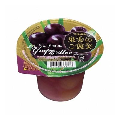 ブルボン 果実のご褒美 ぶどう&アロエ 210g 48コ入り 2020/02/04発売 (4901360338320c)