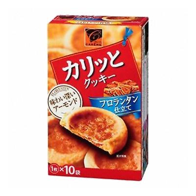 カバヤ カリッとクッキー フロランタン仕立て 1枚×10袋 45コ入り 2014/08/26発売 (4901550124641c)
