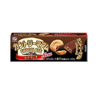 不二家 カントリーマアムチョコレート(プラスクランチ)SP 10枚 160コ入り 2018/09/11発売