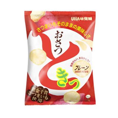 UHA味覚糖 おさつどきっ プレーン味 60g 40コ入り (4970694258918c)