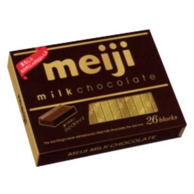 明治 ミルクチョコレートBOX 120g(26枚) 48コ入り 2016/09/13発売 (4902777026107c)