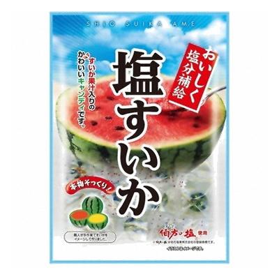 宮川製菓 塩すいか飴 70g 72コ入り (4902786022510c)
