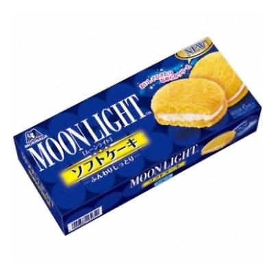 森永製菓 ムーンライトソフトケーキ 6個 30コ入り (4902888208157c)