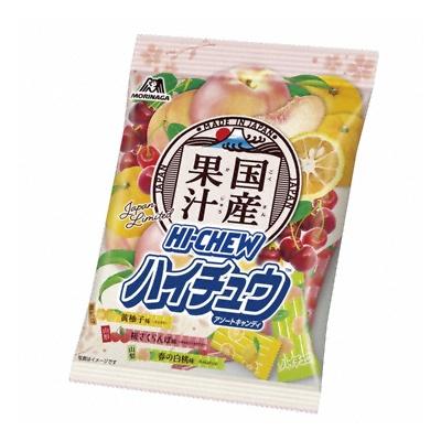 森永製菓 国産果汁ハイチュウアソート 77g 48コ入り 2020/03/03発売 (4902888242960c)
