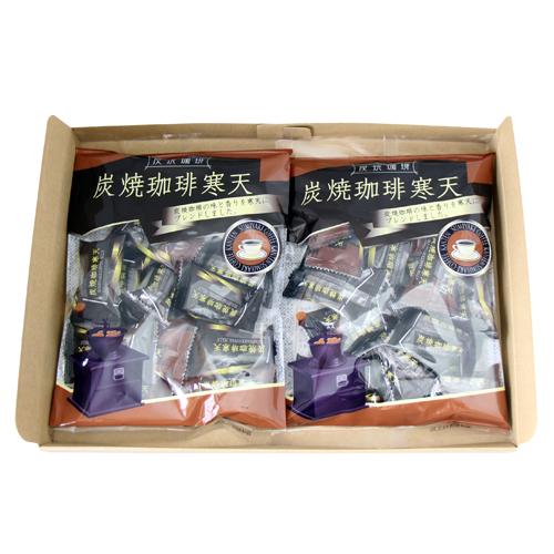 (全国送料無料) 小林製菓 炭焼珈琲寒天 190g 2コ入り メール便 (4962472861038x2m)