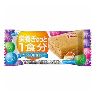 グリコ バランスオンminiケーキ チーズケーキ 捧呈 1個 20コ入り 安い 10 45183355 2014 14発売