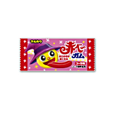 マルカワ 赤ベ~ガム(アタリ付) 1個 1272コ入り (49186840c)