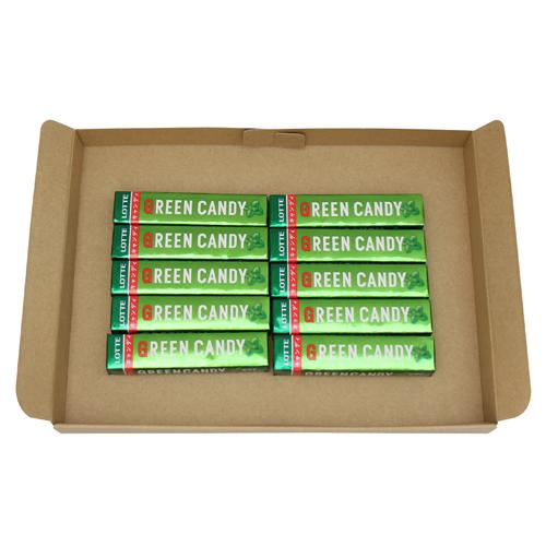 全国送料無料 ロッテ お得 グリーンキャンディ 11粒 メール便 10コ入り 49779806m ブランド品