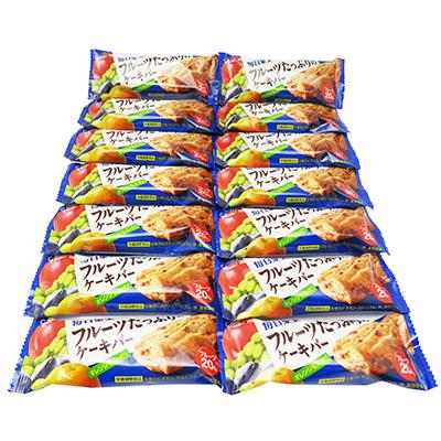 全国送料無料 爆安プライス グリコ 毎日果実 フルーツたっぷりのケーキバー 14コ入り 売り出し 4901005175372x14m 1本 メール便