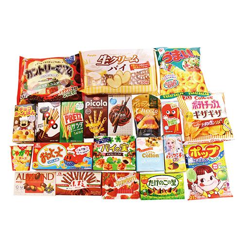 大量!!たくさんのお菓子セット(21種類入り) おかしのマーチ (omtmamgmfsa)