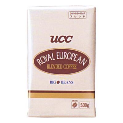 UCC業務用 ロイヤル ヨーロピアンブレンド(豆) AP500g×12個