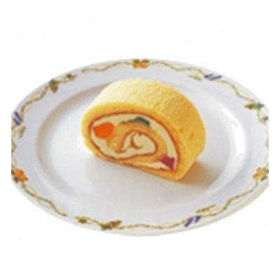(地域限定送料無料) UCC業務用 ベルリーベ フルーツロールケーキ 6ピース 12コ入り<ケーキ>(冷凍) (760642000c)